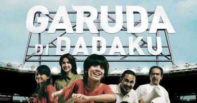 Poster film Garuda di Dadaku
