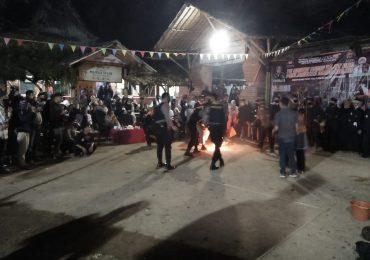 Polisi dan Wartawan ikut Meriahkan Tahun Baru 1442 H dengan Bermain Boles di Ponpes Dzikir Al Fath