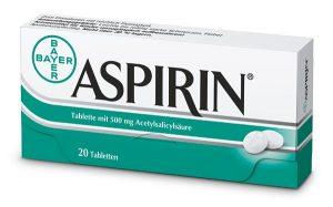 aspiryna na skórę
