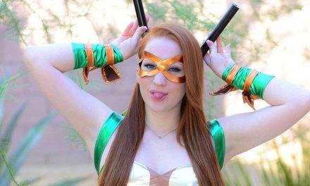 Lucy O'Hara, daar willen we wel Halloween mee gaan vieren