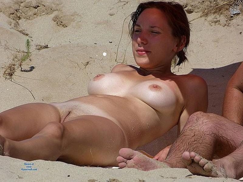 Gewoon Mooie Vrouwen, Topless En Naakt Op Het Strand-5385
