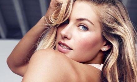 Jessica Hart, topmodel met grote tieten