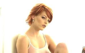 Cathi O'Malley, mooi rood haar en mooie tieten