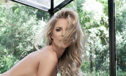Kimberly Cox, een hele mooie blonde vrouw