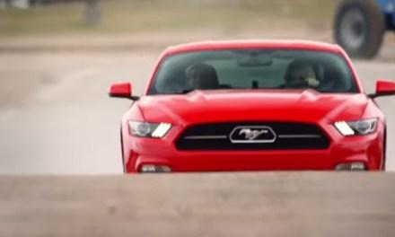 Een Ford Mustang en Speeddaten