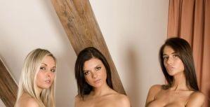 Drie mooie blote vrouwen, waarom niet?