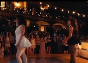 Bruiden, ook in lingerie, zijn sexy aan het dansen