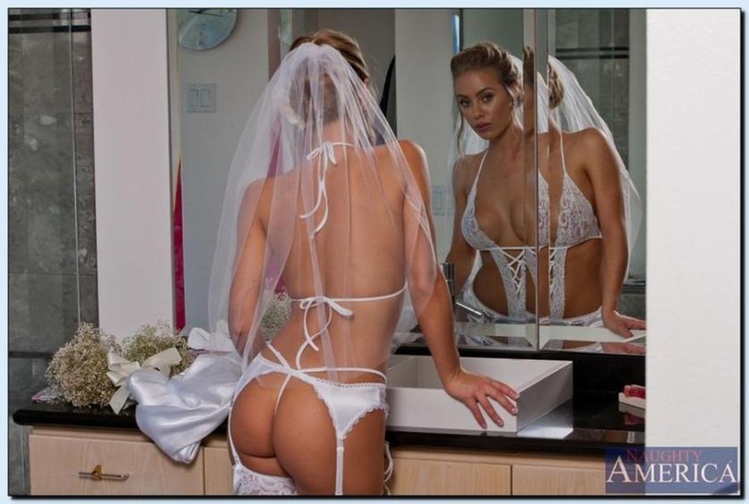 legit vind bruid grote borsten