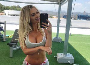 Rosanna Arkle, een lekkere Instagram babe