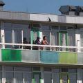 neuken op het balkon
