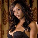 Knappe Ebony Playboy babe