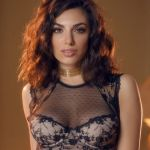 Darcie Dolce in mooie kanten lingerie