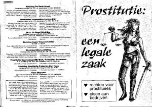 De folder over de wetswijziging in 2000.