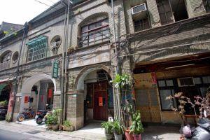 Warme buurt in Taipei