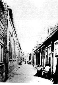 De Lange Agnietenstraat omstreeks 1900