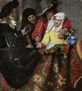 De koppelaar. J. Vermeer