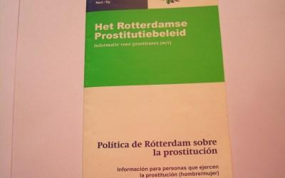 Een van de vijf doelstellingen van de wetswijziging van 2000: regulering van de prostitutiebranche