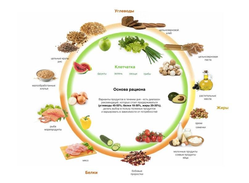 Клетчатка и белок для похудения