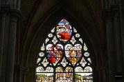 Witraż z XIV wieku, Katedra w Roeun