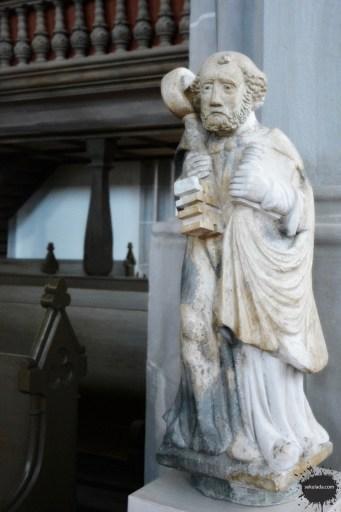 Figura św. Piotra z kościoła w Goerlitz