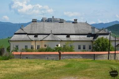 Późnobarokowy pałac biskupi w Spiskiej Kapitule
