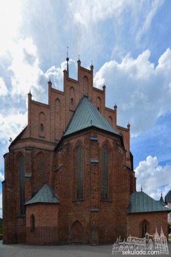 Kościół w Braniewie pw. św. Katarzyny; woj. warmińsko-mazurskie.