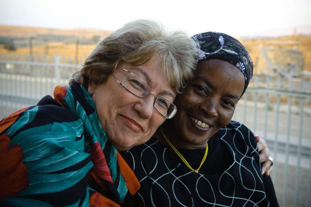 Lea with Ethiopian woman