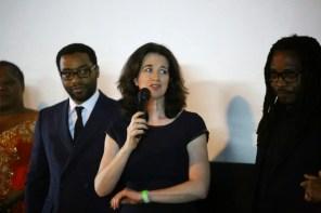 Chiwetel, Andrea Calderwood (producer) and Biyi Bandele (director)