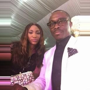 Julius Agwu & wife