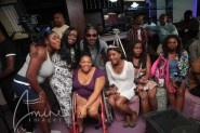 Nikki with Kelechi, her friends and DJ Gosporella