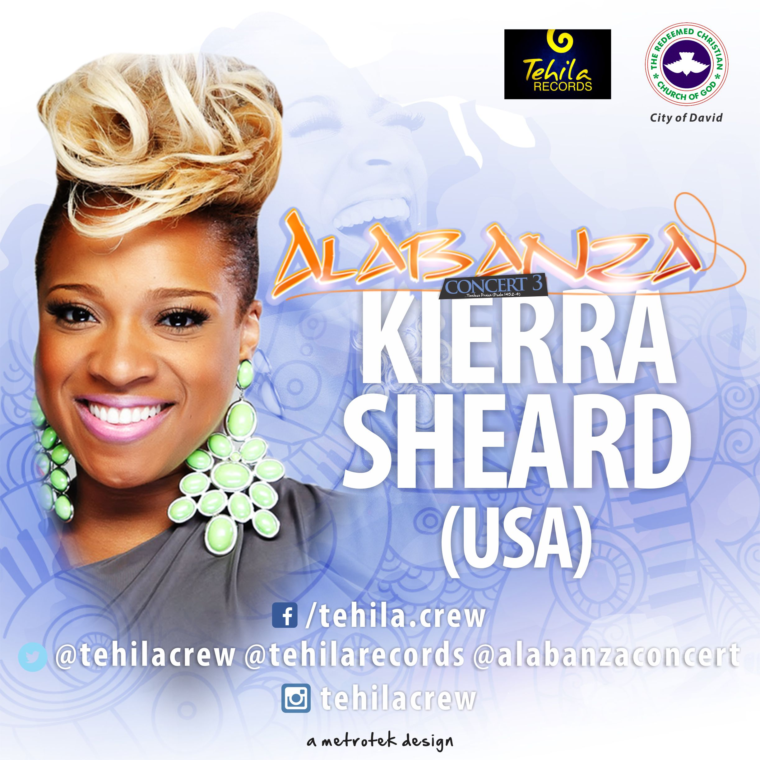 "grammy® award-nominated singer - ""kierra sheard"" - live in"