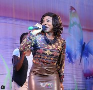 Mercy Chinwo on stage