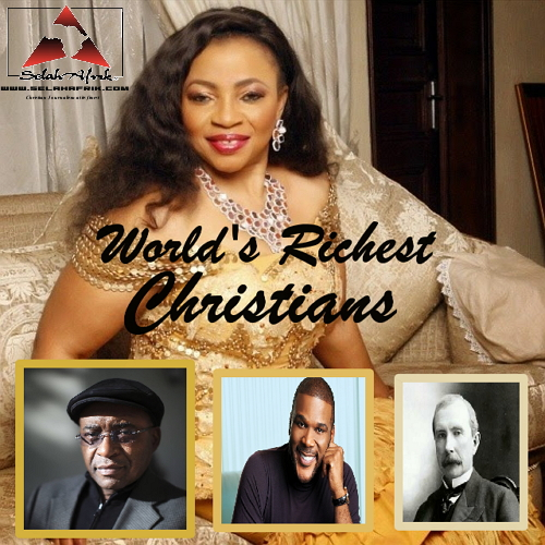 World's Most Outstanding Christian Billionaires – Folorunsho Alakija, Strive Masiyiwa, Tyler Perry and More