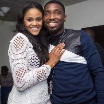 Timi Dakolo & wife