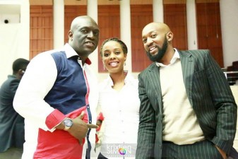 Sammie Okposo, Ayo Vincent and Eric Arubayi