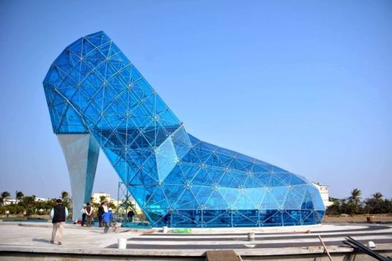 glass church