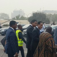 Check Out Pastor Chris Oyakhilome's Convoy As He Arrives Ghana For Night Of Bliss