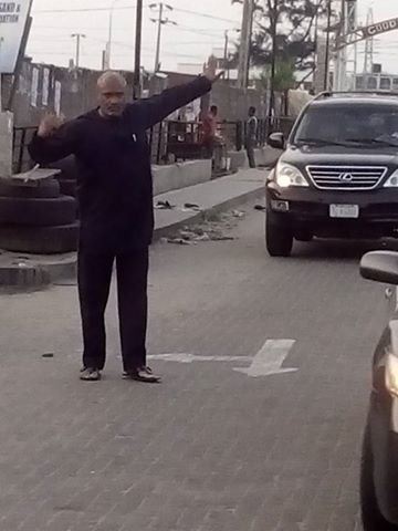 Pastor Paul Adefarasin, traffic, Lekki