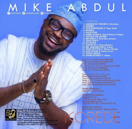 mike abdul back