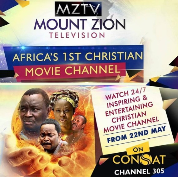 MZTV, Africa's First 24-Hour Christian Movie Channel