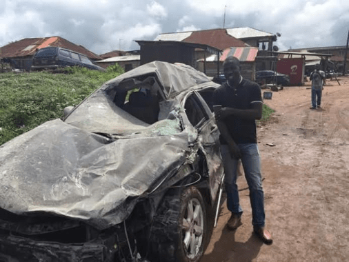 man who survived accident