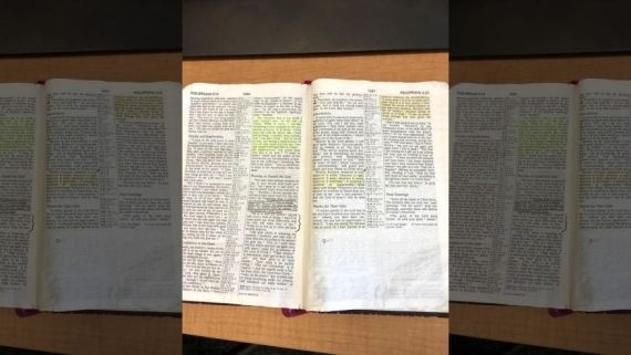 Air Force Investigates Bible