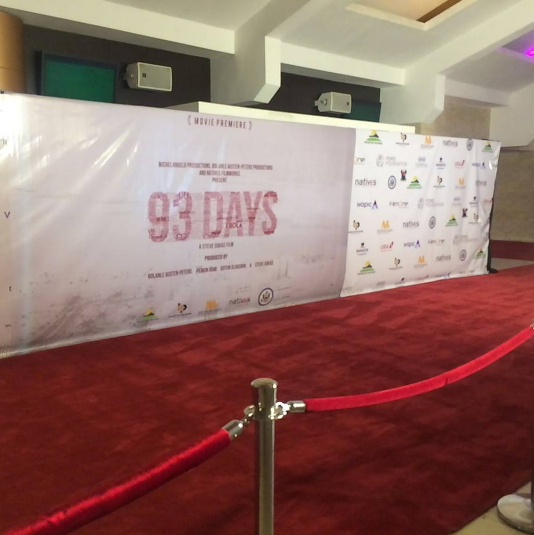 93 Days Movie Premiere