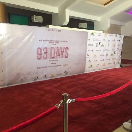 93 Days Movie Premiere