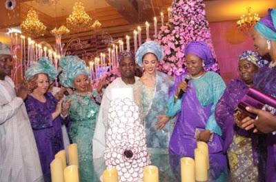 Folorunsho Alakija's son weds