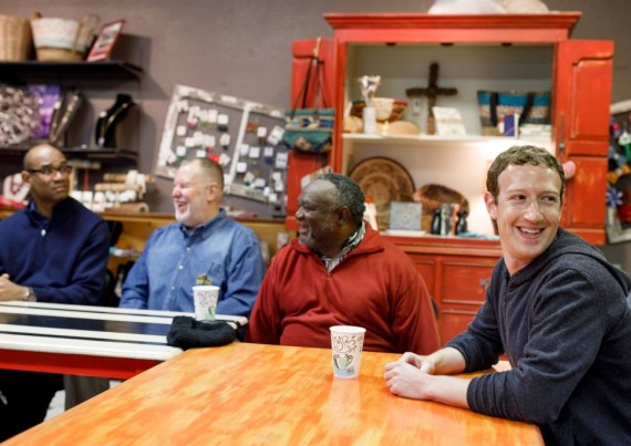 Mark Zuckerberg Meets Pastors