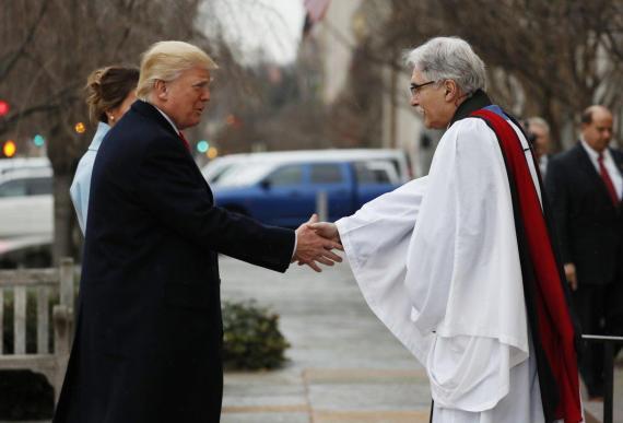 Donald Trump begins Inauguration