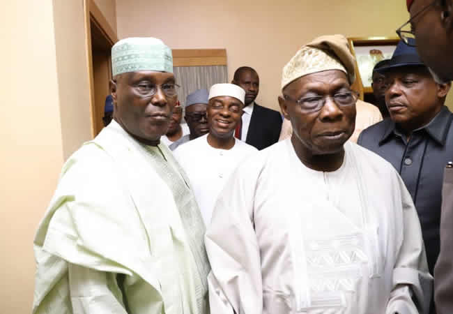 2019 Elections: Bishop Oyedepo Explains Presence At Atiku, Obasanjo Meeting Amidst Criticisms