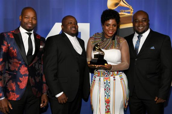Soweto Gospel Choir wins grammy