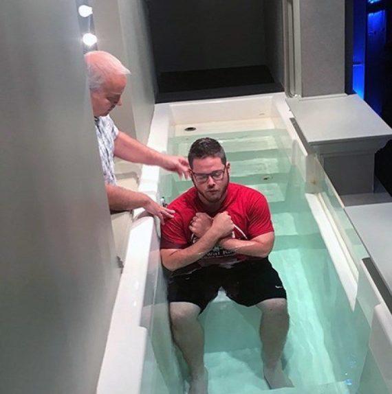 Drug Addict Baptized